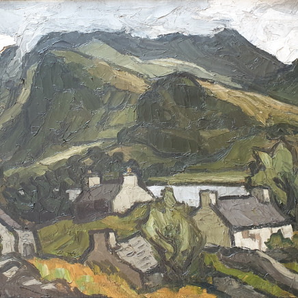 Kyffin Williams - Llyn Padarn, c1960