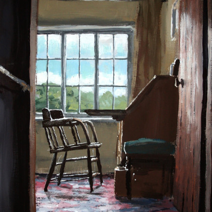 Matthew Wood - The Mill House. View from the Stairs I