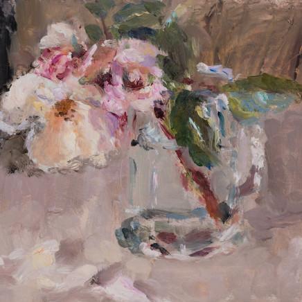 Lynne Cartlidge - Roses in a Glass Tankard