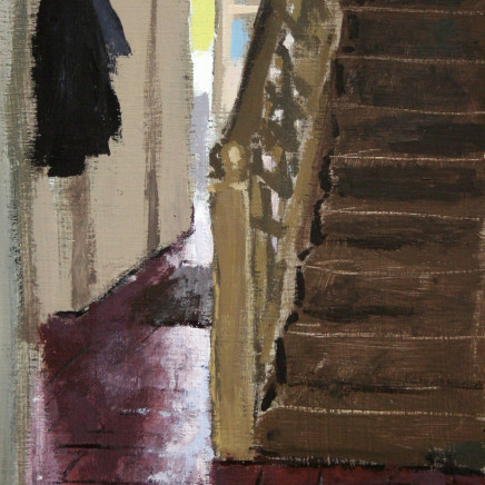 Matthew Wood - View to the Staircase and Backdoor, Delbury Hall