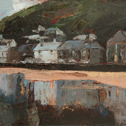 Anne Aspinall - Borth y Gest, Red House