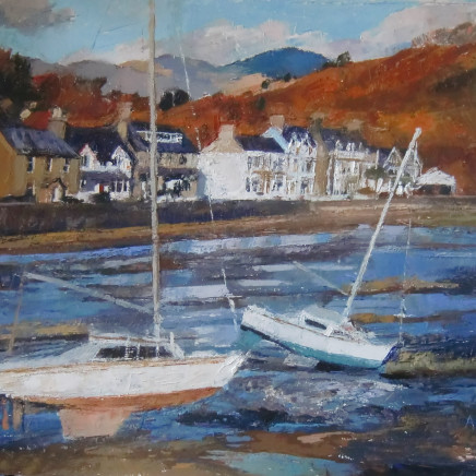 Anne Aspinall - November Sunlight, Borth y Gest
