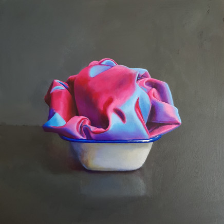 James Guy Eccleston - Pink and Blue Silk