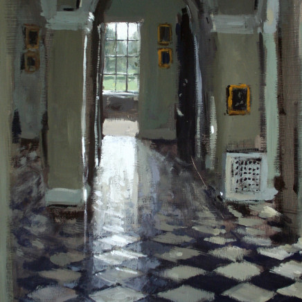 Matthew Wood - Marble Hall to Dining Room, Weston Park