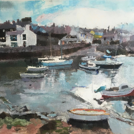 Anne Aspinall - The Harbour, Cemaes