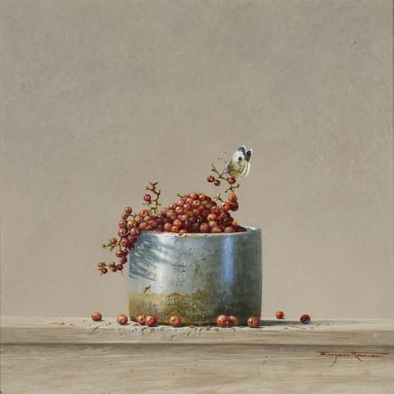 "<span class=""artist""><strong>Bryan Hanlon</strong></span>, <span class=""title""><em>Lemons, Thrush Egg and Enamel Bowl</em></span>"