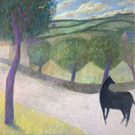 "<span class=""artist""><strong>Nicholas Turner RWA</strong></span>, <span class=""title""><em>Horse on a Lane</em></span>"