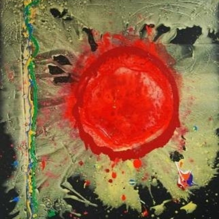 "<span class=""artist""><strong>John Hoyland</strong></span>, <span class=""title""><em>Life and Love</em></span>"