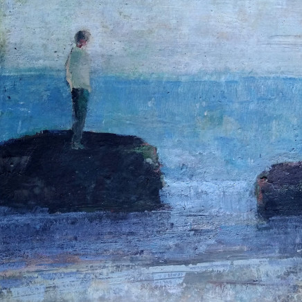 "<span class=""artist""><strong>David Brayne RWS</strong></span>, <span class=""title""><em>Grey Gulls</em></span>"