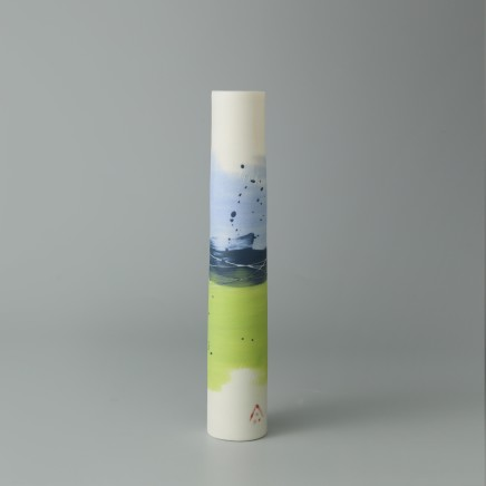 """<span class=""""artist""""><strong>Ali Tomlin</strong></span>, <span class=""""title""""><em>AT6 - Single Stem, Olive and Black</em></span>"""