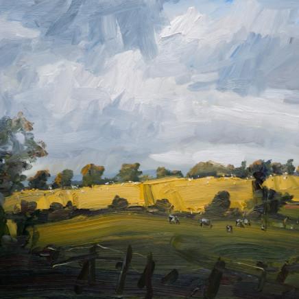 """<span class=""""artist""""><strong>Robert Newton</strong></span>, <span class=""""title""""><em>An Old Landscape</em></span>"""