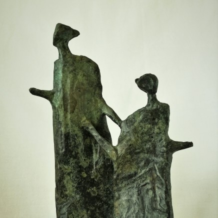 "<span class=""artist""><strong>Neil Wood</strong></span>, <span class=""title""><em>Mother & Child III</em>, 2018</span>"