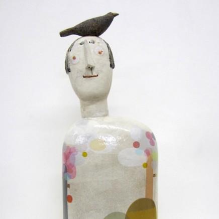 <span class=&#34;artist&#34;><strong>Jane Muir</strong></span>, <span class=&#34;title&#34;><em>Bird-Shoulder, Blue Tree</em></span>