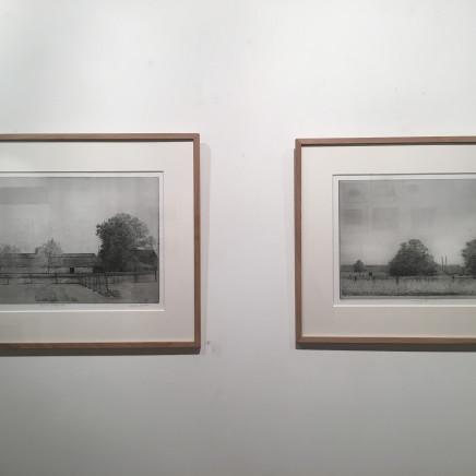 """""""Ranch, Kooidijk III"""", 2015 et """"Paysage à la ferme, Kooidijk II"""", 2014"""
