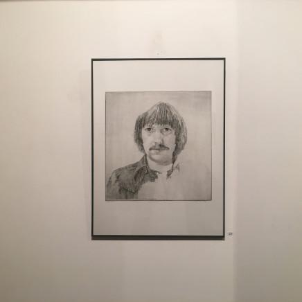 Autoportrait de Charles Donker (Printemps 1976)