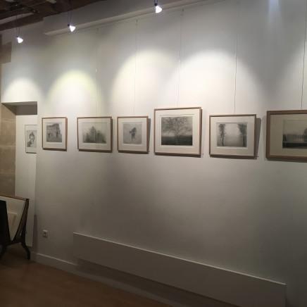 Vue de l'exposition Charles Donker, 50 ans de gravure