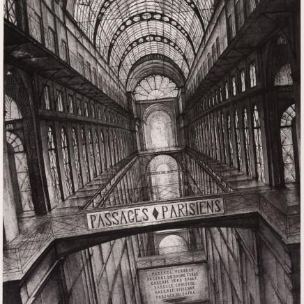 Érik Desmazières, Passages Parisiens – Projets d'Agrandissement, Frontispice, 1991