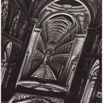 Érik Desmazières, Galerie Vivienne (projet d'agrandissement), 1990