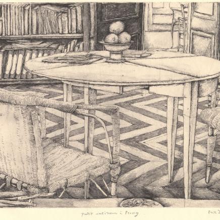 Érik Desmazières, Petit intérieur à Pressy, 1993