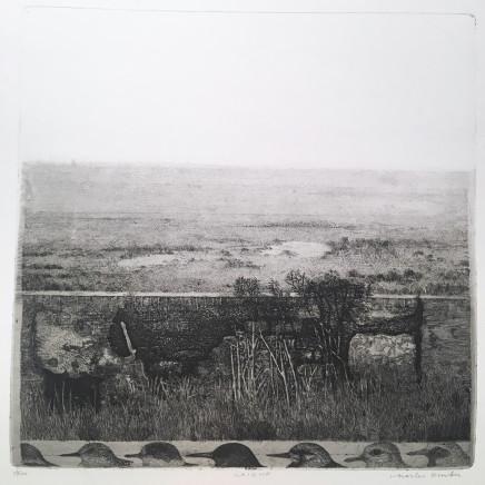 Charles Donker - Het waddeneiland Griend (Griend, l'île des Wadden, archipel des îles de la Frise), 1972-1974
