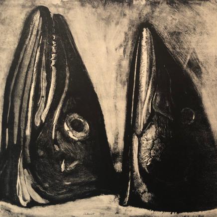 Jean-Baptiste Sécheret, Chinchard et maquereau I, 1989