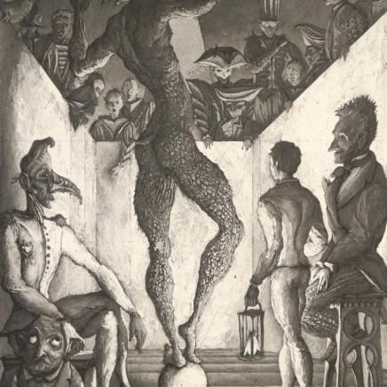 Érik Desmazières, La Danse du diable, 1992