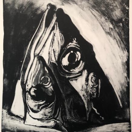 Jean-Baptiste Sécheret, Rascasse et maquereau, 1989
