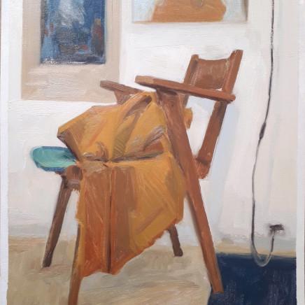 Nicolas Sage, Étude de chaise et de couverture, 2020