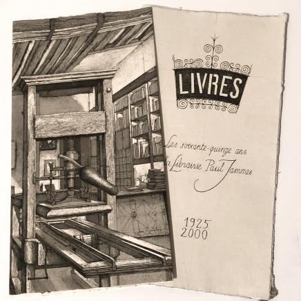 Érik Desmazières, Les Soixante-quinze ans de la Librairie Paul Jammes, 2000