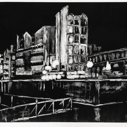 Ariane Fruit, Nocturnes - Rue de Rome #1, 2011