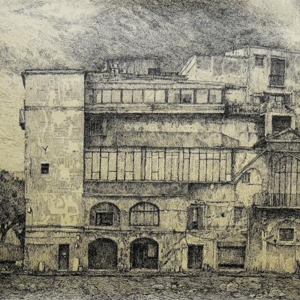 Charles-Élie Delprat, Palerme, via Cala, Sicile, 2014