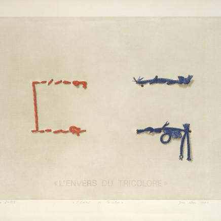 Joerg Ortner, L'Envers du tricolore, 1971