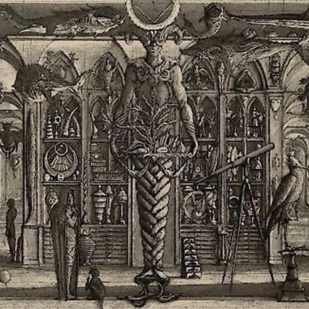 Érik Desmazières, Die Wunderkammer ou La Chambre des merveilles, 1997