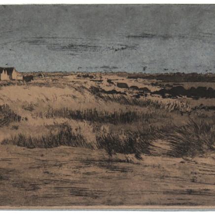Charles-Élie Delprat, Kerlouan, Finistère, le soir, 2018