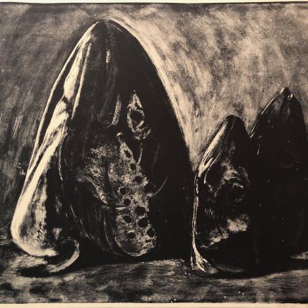 Jean-Baptiste Sécheret, Saumon et deux maquereaux, 1989