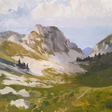 Nicolas Sage, Les Alpes et le Léman, 2020