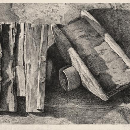Simon Vignaud, Sans titre (Lithographie), 2012
