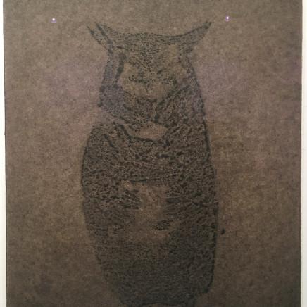 Astrid de La Forest, Empreinte (hibou), 2014