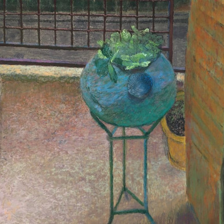 Martin Basdevant, Paysage à la fenêtre, 2020