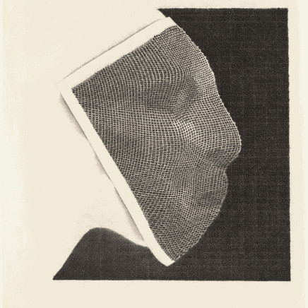 Jacques Muron, Masque de cuivre, 2018