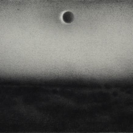 Nicolas Poignon, Paysage avec éclipse, 2015