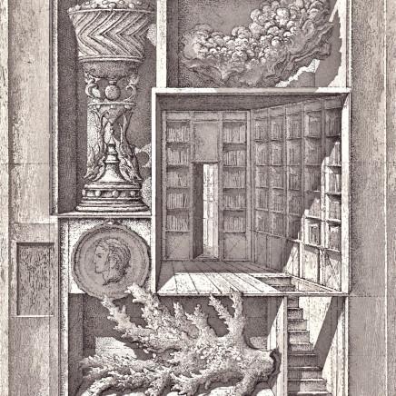 Érik Desmazières, Bibliothèque et autres curiosités, 2013