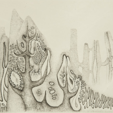 Cécile Reims, Cosmogonies - gravure #5, 1959