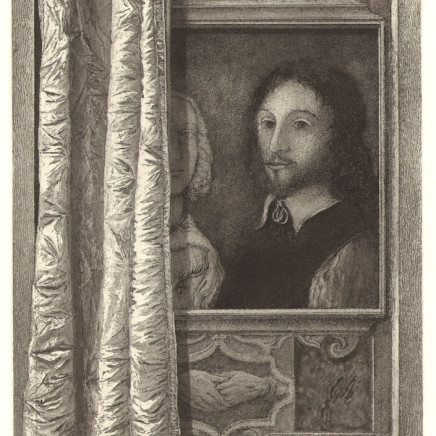 Érik Desmazières, Portrait of Sir Thomas Browne, 2012