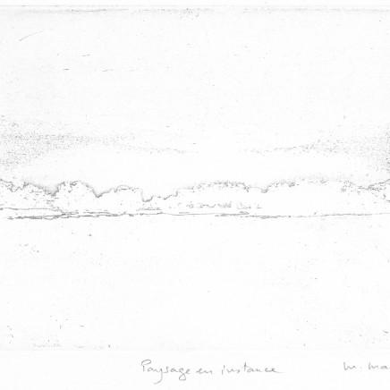 Maurice Maillard, Paysage en instance, 2016
