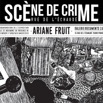Ariane Fruit Scène de Crime