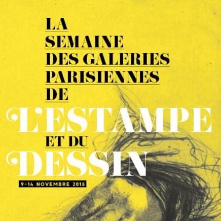 La semaine des galeries parisiennes de l'Estampe et du Dessin