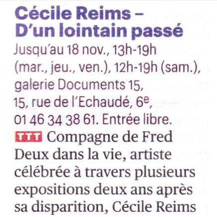 Cécile Reims - D'un lointain passé