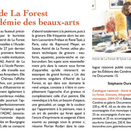 Astrid de La Forest © Sylvie Lancrenon