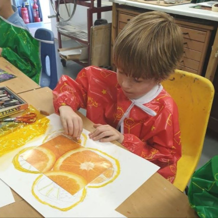 CHILDREN'S ART CLASSES For ages 5-11